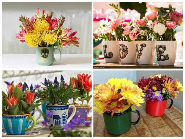 canecas flores